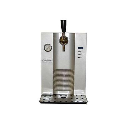 Vinotemp VT-BD Mini Keg Beer Dispenser for Use with 5L Kegs Silver-Black Body