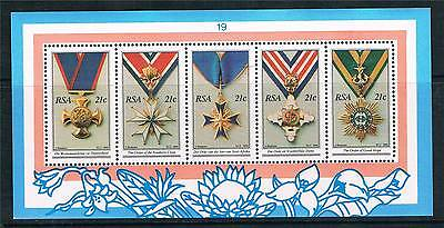 South Africa 1990 National Orders MS SG 723 MNH
