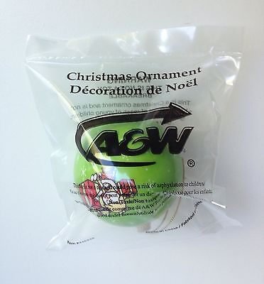 A & W Root Beer Bear Advertising Christmas Ornament RARE! New in Pkg!