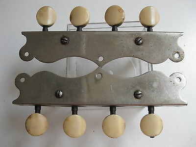 Vintage Fairbanks Lyon & Healy Mandolin Tuners Pegs Set for Project / Repair