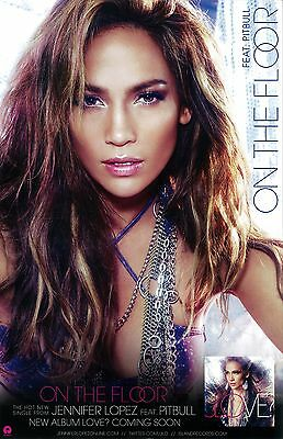 JENNIFER LOPEZ poster  -  JLOVE -  2 sided promotional  poster - 11 x 17 inches