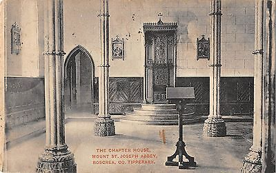 BR80400 the chapter house mount st joseph abbey tipperary ireland