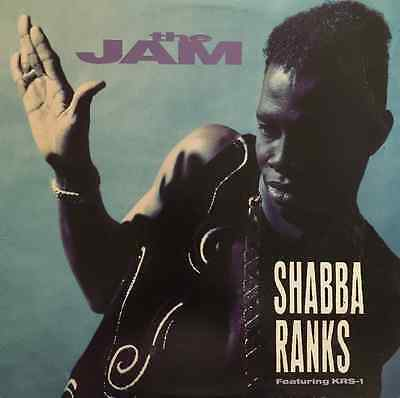 "SHABBA RANKS FT KRS-ONE - The Jam (12"") (G+/G+)"