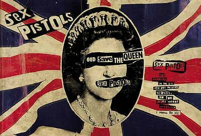 "SEX PISTOLS THE POSTER 24""x36"" MUSIC ROCK POP CONCERT NEW SIDE SHEET PM238"