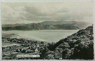 Postcard View of Conway Bay from the Orme, Llandudno, Clywd c1950/60's