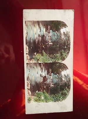 Stereoview View In The Dargle County Wicklow Ireland