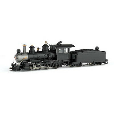 Bachmann 28697 On30 Painted & Unlettered Baldwin 4-6-0 Wood Cab w/DCC (Black)