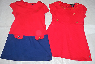 Nautica / 2 American Lable Little Girls Dresses Age 5 / 6 (T4-M5)