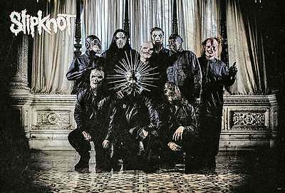 "SLIPKNOT THE POSTER 24""x36"" MUSIC ROCK POP CONCERT HEAVY METAL SIDE SHEET PM242"