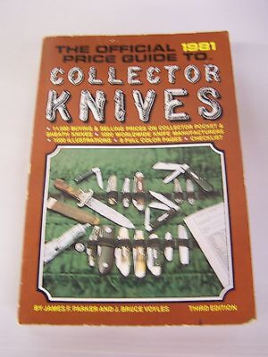 1981 Official Price Guide To Collector Knives