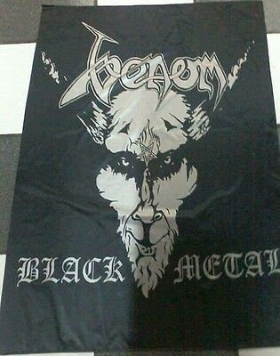 VENOM Black Metal FLAG BANNER CLOTH POSTER WALL TAPESTRY CD Death Metal