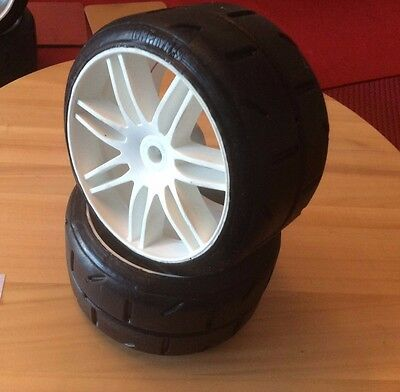 BRAND NEW GRP C Compound Tyres | Fits 1/5th RC Cars like Mecatech FG Contrast...