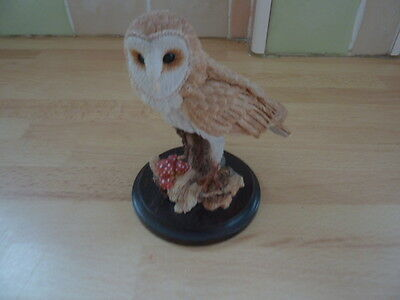 Country Artists~Barn Owl~ Signed Lana Ford Dated 1992