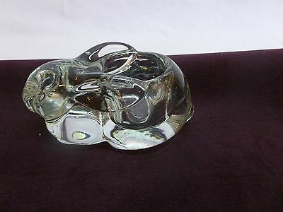 Indiana Glass Votive Rabbit - Clear!