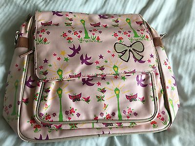 BNWT Pink Lining Baby Change Bag Forest By Night Convertible Rucksack Bag RARE