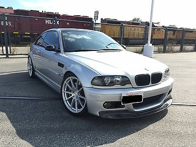 2002 Bmw M3 Coupe  2002 Bmw E46 M3 Manual 6 Speed No Sunroof Cloth Seats Dinan Rare Only 20K Miles