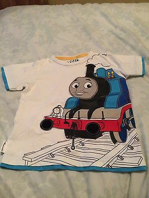 Boys Thomas The Tank T-shirt 3-4 Years M&S