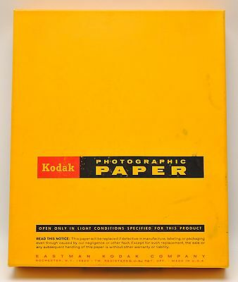 Kodak Medalist F-2 10 X 12 Photographic Paper, 250 Sheets, 1972 Opened