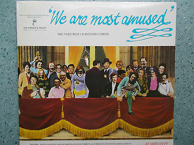 We Are Most Amused-Comedy Compilation Gatefold Sleeve Double Vinyl Record Releas