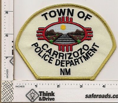 Carrisoso Town Police. Old Patch.New Mexico.