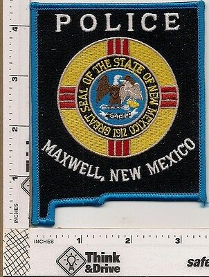 Maxwell Police. New Mexico.
