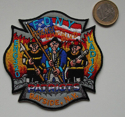 Patch - FDNY - ENGINE CO.320/Ladder-167 QUEENS