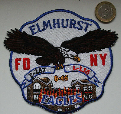 Patch - FDNY - ENGINE CO.287//Ladder-136 QUEENS