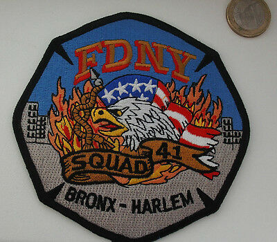 Patch - FDNY - City of New York - Squad-41