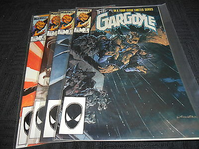 The Gargoyle #1-4 Limited Series (Complete), Marvel, 1985, VF/NM, Defenders