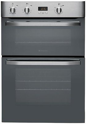 Hotpoint DHS53X Integrated Double Oven in Stainless Steel