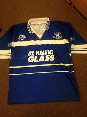 St Helens Rugby League Vintage Shirt