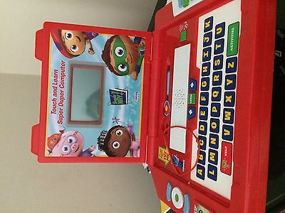 PBS Kids Super why super duper Learning Curve computer