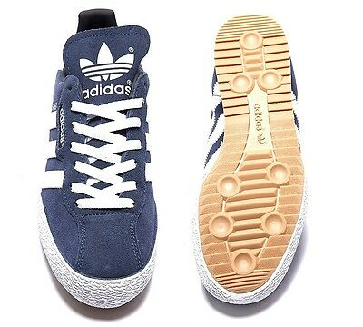 adidas Originals Mens Samba Super Suede Trainers Sneakers Shoes Navy