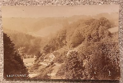 Old Real Photo Postcard Eastcombe - Posted
