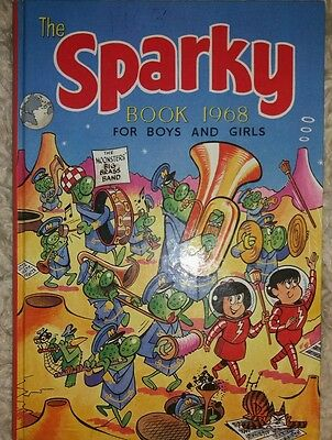 The Second Sparky Book 1968- Amazing Condition