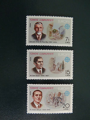 Turkey 1980  SG2692-2694  MNH