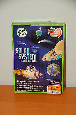 Leap Frog TAG System Our Solar System fold out map free shipping