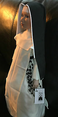 """RARE 1996 Blessings Catholic Nun 20"""" Doll Discontinued"""