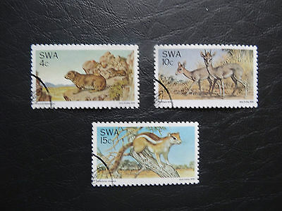 South West Africa 1976 SG290-292  Set  F/Used