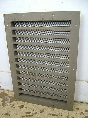 Vintage Stamped Steel Floor Heat Grate Register Vent Old Hardware 28x20 3 Availa