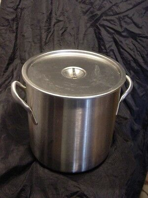 Used Vollrath Wear Ever 78620 Classic 24 qt. Stainless Steel Stock Pot Lid 78672