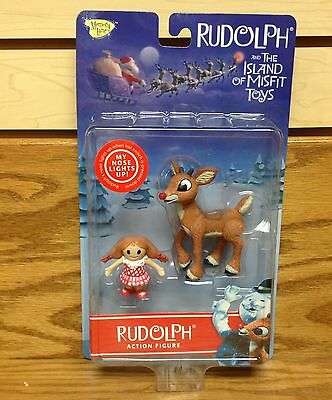 FIRST WAVE Rudolph Red Nosed Reindeer The Island of Misfit Toys Action Figure