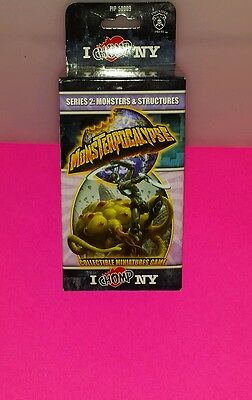 monsterpocalypse series 2 monsters and structures. NEW
