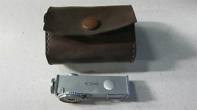 Vintage Kodak Rangefinder with Leather Carrying Case Photography Camera