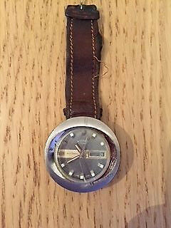 Rotary vintage automatic watch 1970s spares and repair