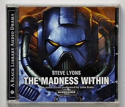 Warhammer 40,000: The Madness Within by Steve Lyons - 1 CD audio book - VGC