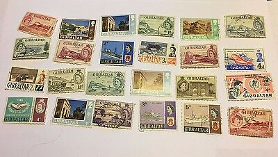 Collection of Gibraltar Stamps. Commemorative 1953-
