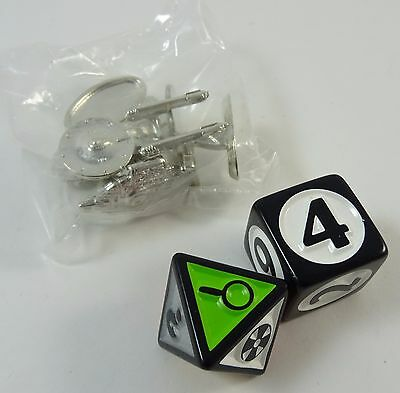 Star Trek Scene It Replacement Pawns Tokens Movers and Dice