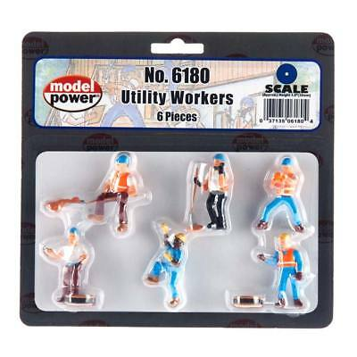 NEW Model Power Utility Workers (6) O 6180