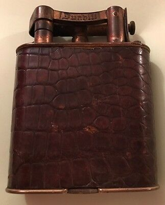 Vintage Dunhill Table Lighter Patent No 143752